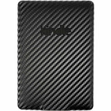 Amazon Kindle Paperwhite Screen Protector + Black Carbon Fiber skin Protector