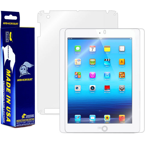 Apple iPad 3 Screen Protector + Full Body Skin Protector (3rd Gen)