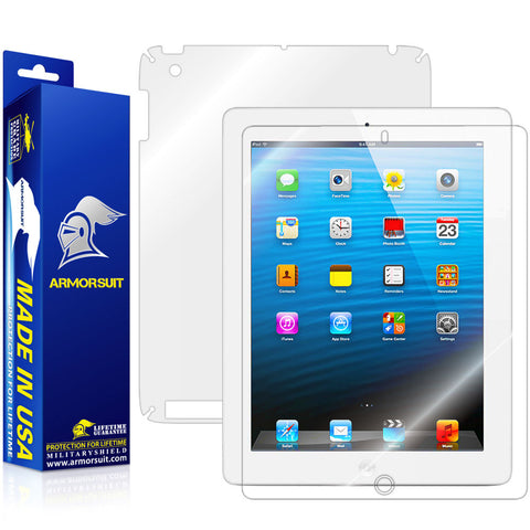 Apple iPad 4 (WiFi+ 4G LTE) Full Body Skin Protector