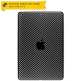 Apple iPad Mini 3 Screen Protector + Black Carbon Fiber Skin