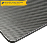 "Apple iPad Pro 12.9"" (2018) Screen Protector + Black Carbon Fiber Skin"