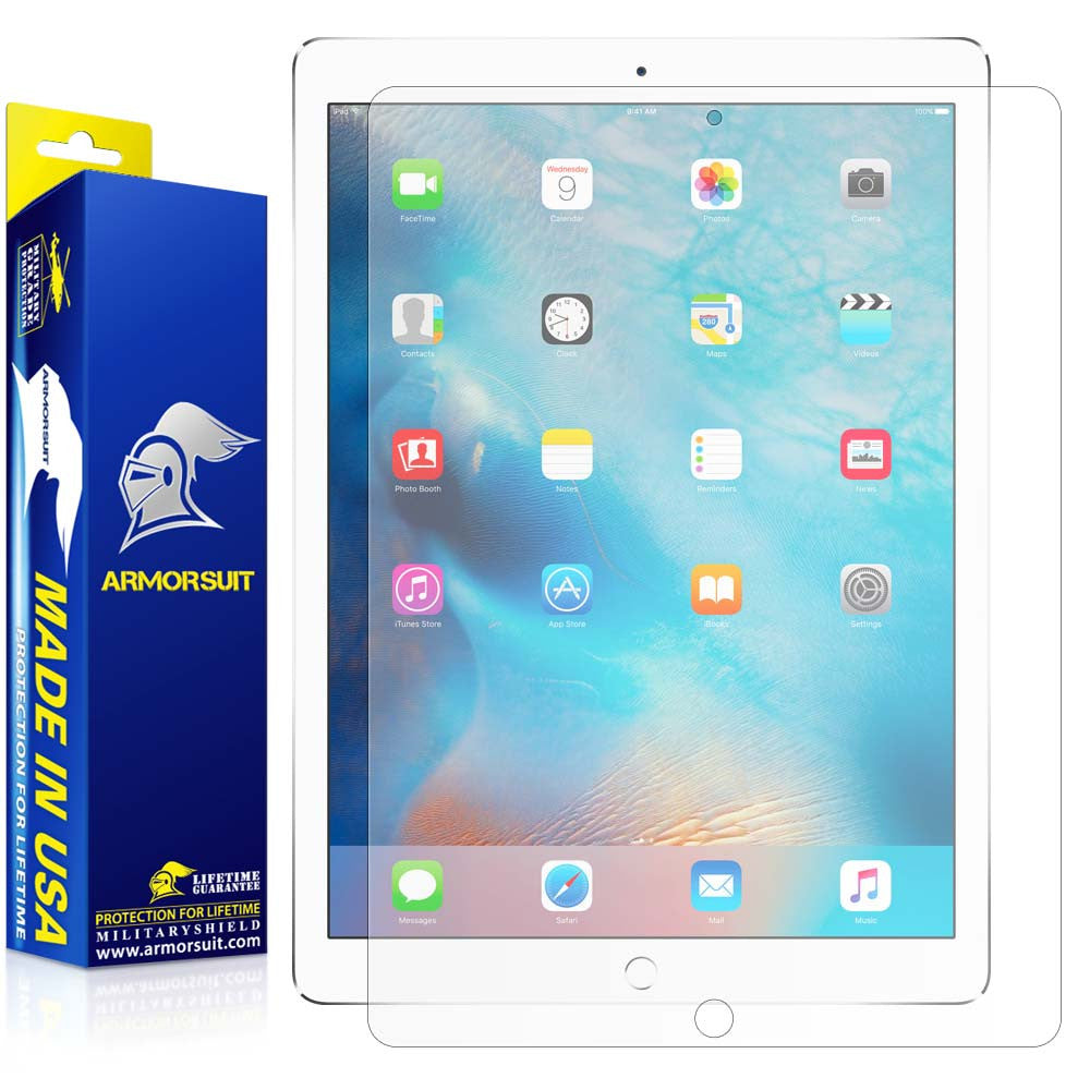 "Apple iPad Pro 12.9"" Matte (Anti-Glare) Screen Protector"