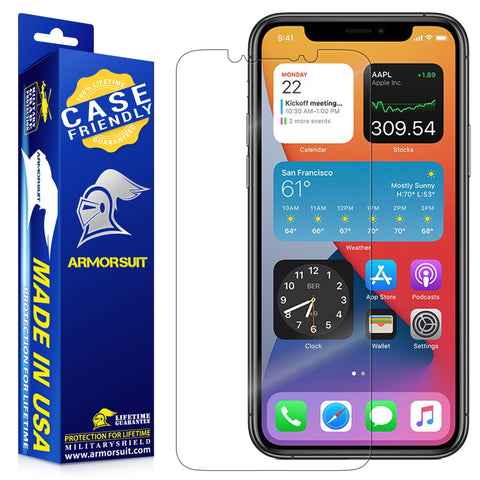 Apple iPhone 11 Pro Max Screen Protector Case Friendly