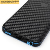 Apple iPhone 5c Screen Protector + Black Carbon Fiber Film Protector