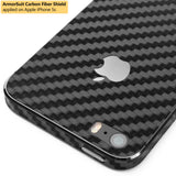 Apple iPhone 5/ 5S Screen Protector + Black Carbon Fiber Film Protector