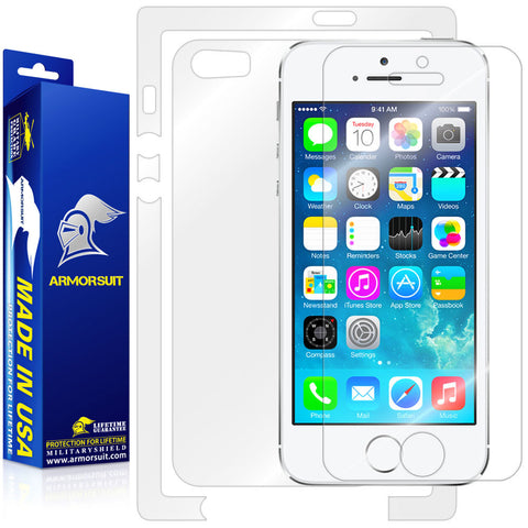 Apple iPhone 5/ 5S Screen Protector + Full Body Skin Protector