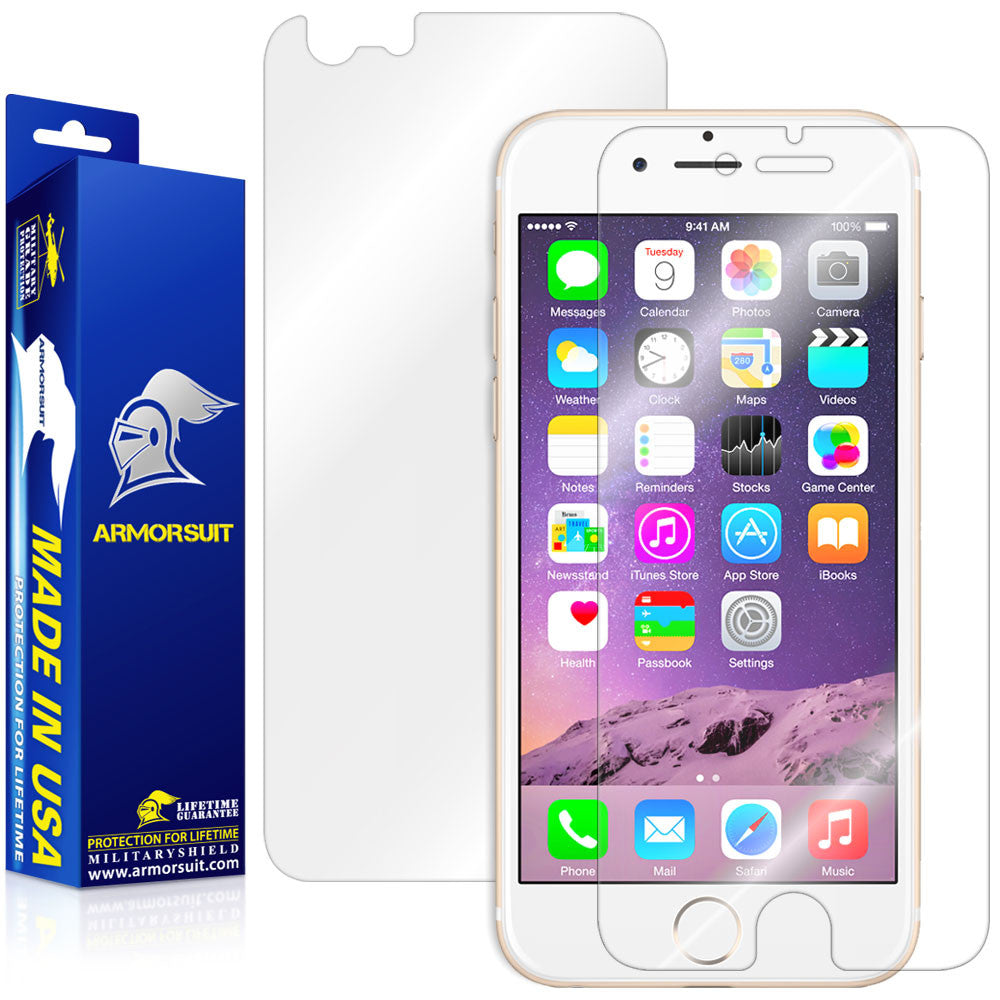Apple iPhone 6 / 6S Screen Protector + Back Protector