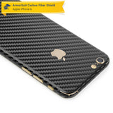 Apple iPhone 6 Screen Protector + Black Carbon Fiber Skin