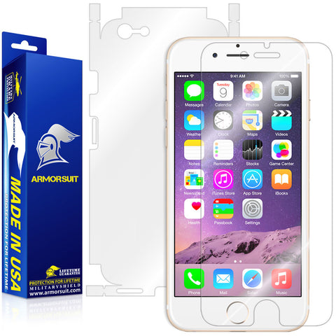 Apple iPhone 6 Screen Protector + Full Body Skin Protector