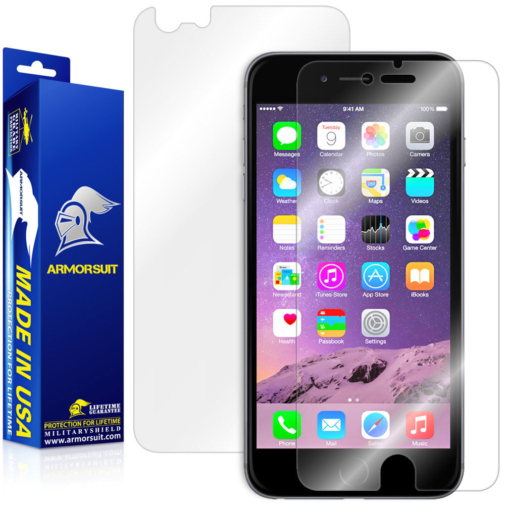 Apple iPhone 6 Plus / 6S Plus Screen Protector + Back Protector