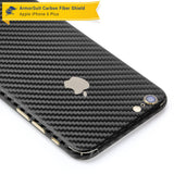 Apple iPhone 6 Plus / 6S Plus Screen Protector + Black Carbon Fiber Full Body Skin Protector