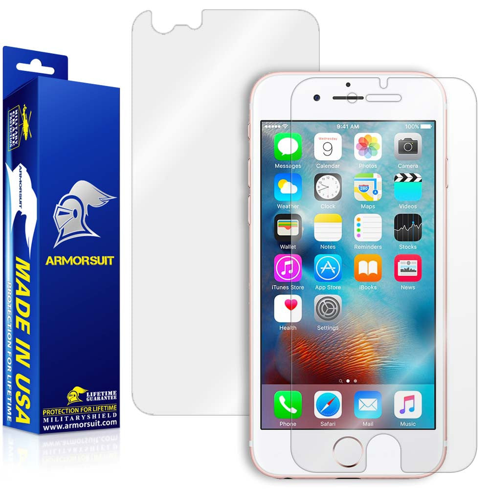 timeless design b166c 6d1c0 Apple iPhone 6s Screen Protector + Easy Installation Back Skin Protector -  ArmorSuit