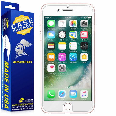 Apple iPhone 7 Plus Screen Protector (Case-Friendly)