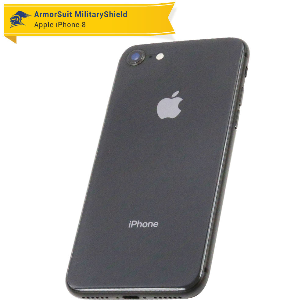 new style c23c8 ee3e5 Apple iPhone 8 Plus Screen Protector (Matte Case-Friendly + Back Protector)  - ArmorSuit