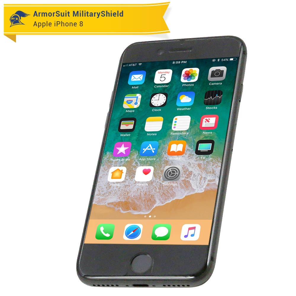 huge discount 32bee 8f550 Apple iPhone 8 Screen Protector (Full Coverage) - ArmorSuit