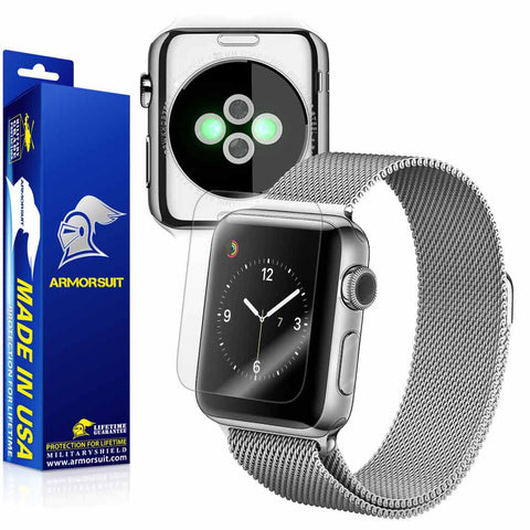 Apple Watch 38mm (Series 2) Screen Protector + Full Body Skin Protector