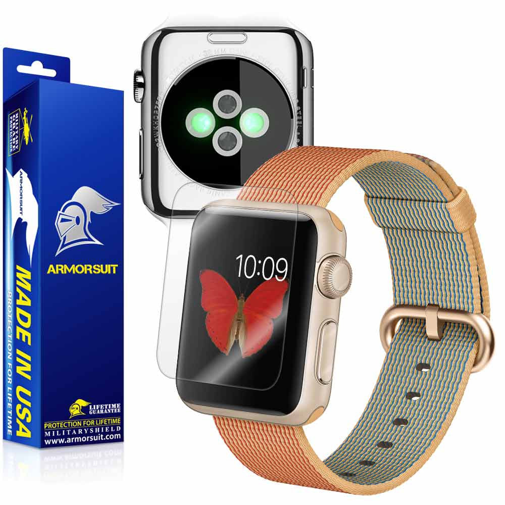 Apple Watch 42mm (Series 2) Screen Protector + Full Body Skin