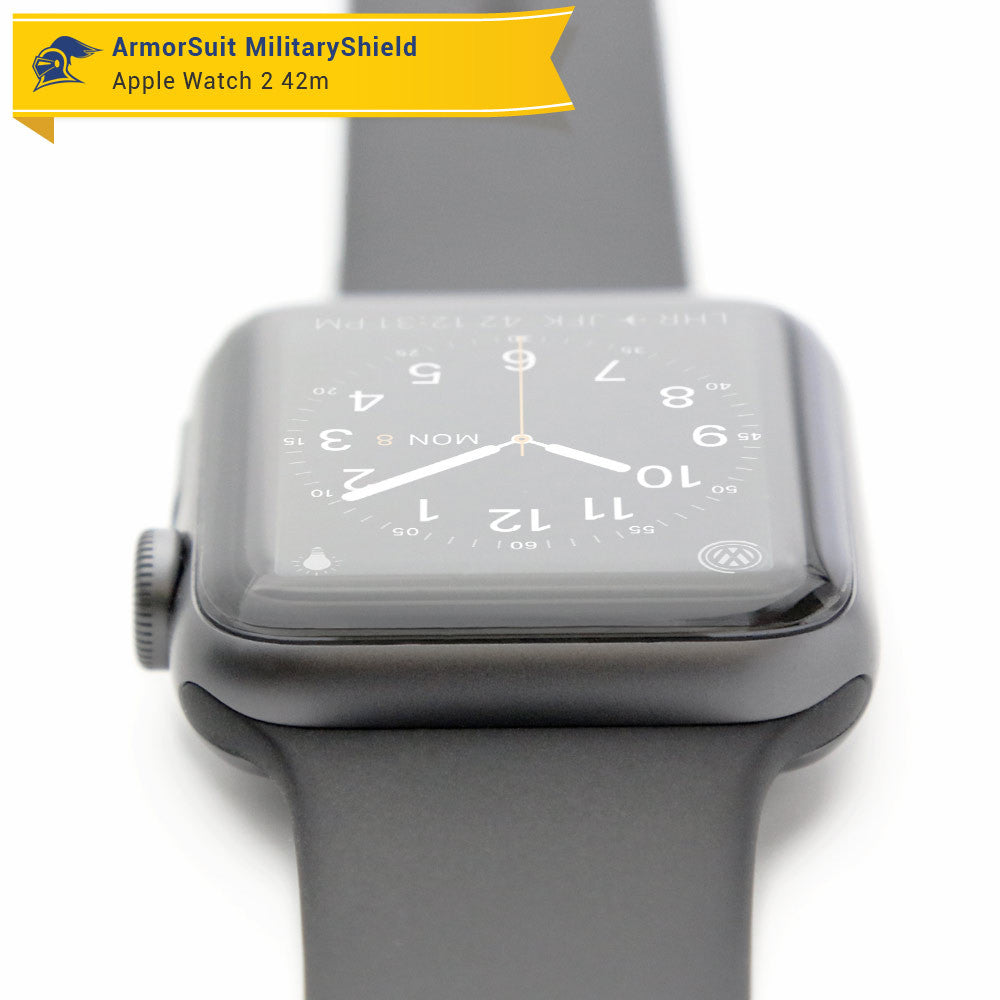 newest 3a870 0c28f Apple Watch 42mm (Series 2) Screen Protector [2 Pack] - ArmorSuit