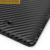 ASUS MeMO Pad HD 7 ME173X Screen Protector + Black Carbon Fiber Film Protector