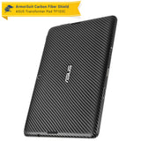 ASUS Transformer Pad TF103C / MG103C Screen Protector + Black Carbon Fiber Film Protector