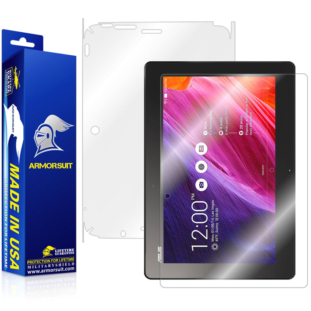 ASUS Transformer Pad TF103C Screen Protector + Full Body Skin Protector