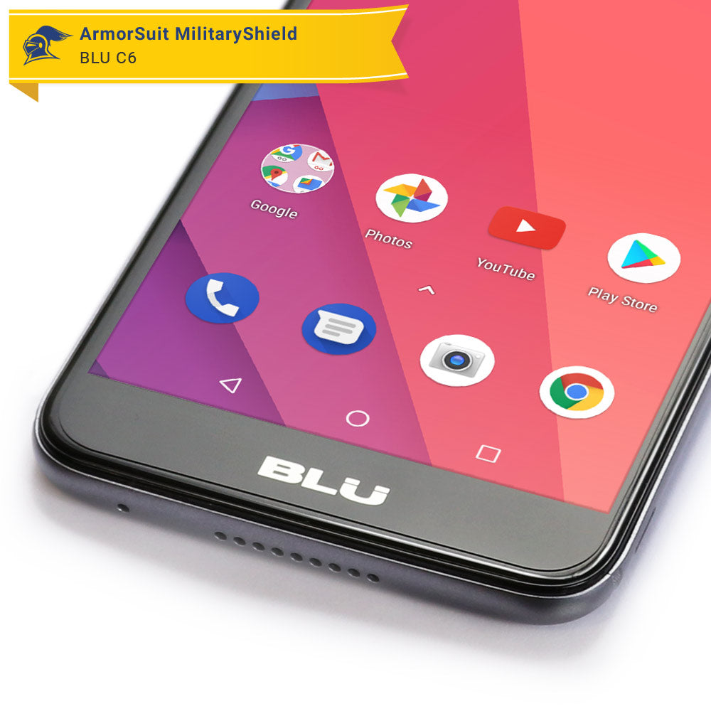 size 40 27389 6ee12 BLU C6 Case-Friendly Screen Protector - ArmorSuit