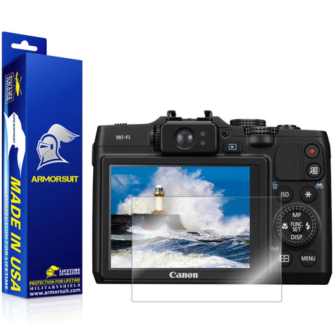 Canon PowerShot G16 Camera Screen Protector