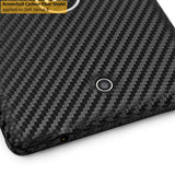 Dell Venue 8 (Model T02D001) Screen Protector + Black Carbon Fiber Film Protector