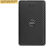 Dell Venue 8 Pro Screen Protector + Black Carbon Film Protector