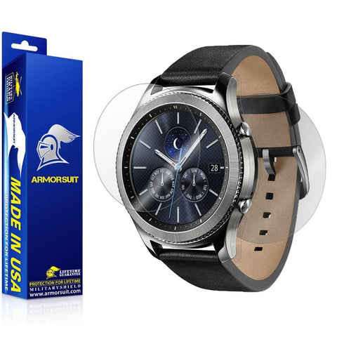 Samsung Gear S3 Classic Screen Protector + Full Body Skin Protector