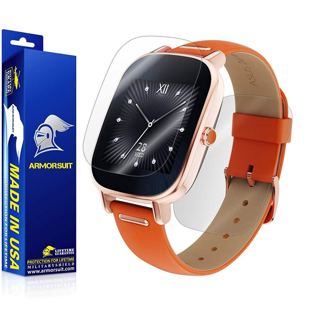 ASUS ZenWatch 2 1.45 Screen Protector + Full Body Skin Protector