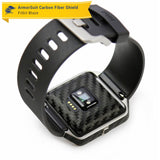 Fitbit Blaze Screen Protector + Black Carbon Fiber Skin