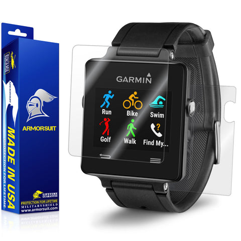 Garmin Vivoactive Screen Protector + Full Body Skin
