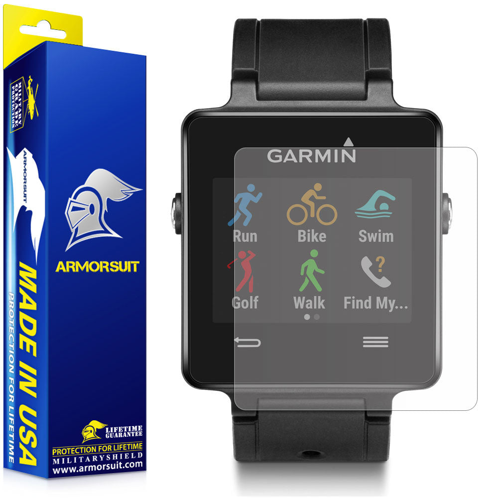 Garmin Vivoactive Anti-Glare (Matte) Screen Protector [2-Pack]