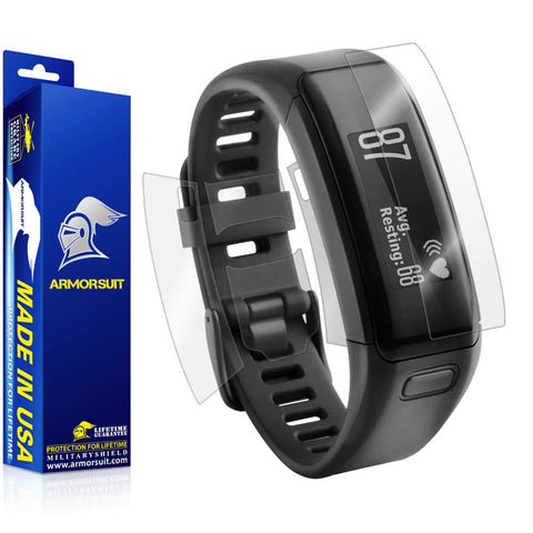 Garmin Vivosmart HR Screen Protector + Full Body Skin (Front & Back)