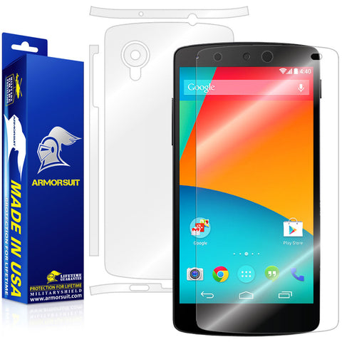 LG Nexus 5 Full Body Skin Protector