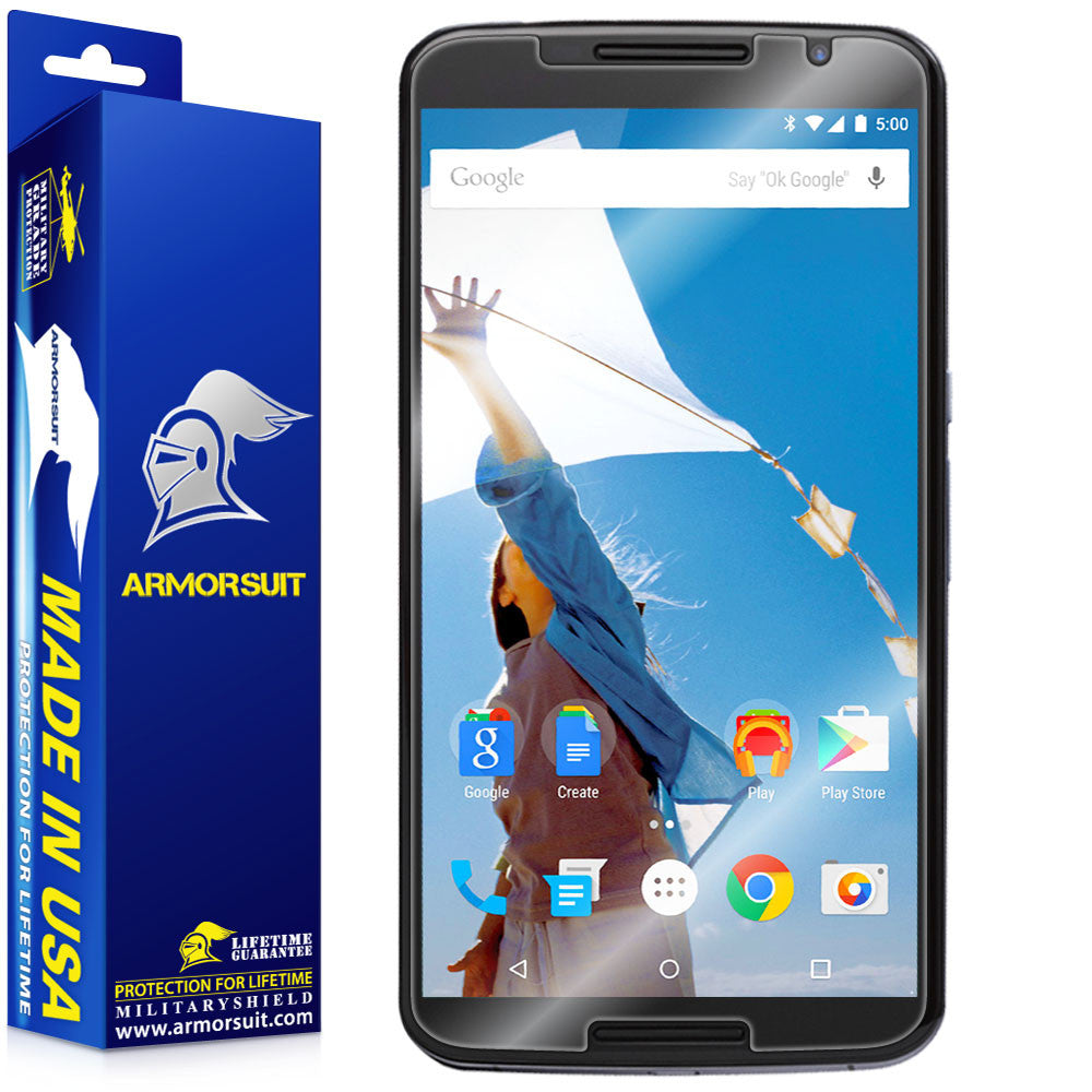 Google Nexus 6 Screen Protector (Case-Friendly)