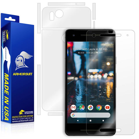 Google Pixel 2 Screen Protector + Full Body Skin