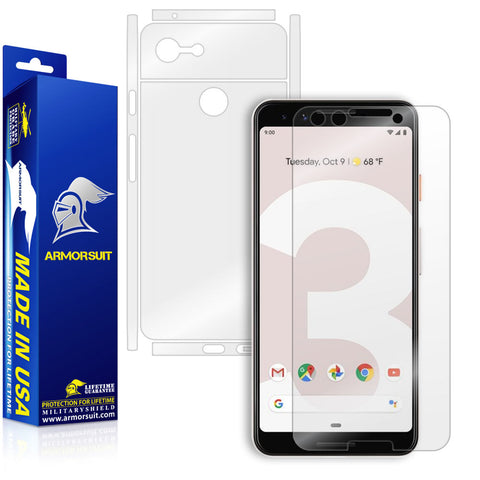 Google Pixel 3 Screen Protector + Full Body Skin