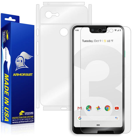 Google Pixel 3 XL Screen Protector + Full Body Skin
