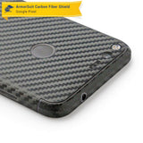 Google Pixel Screen Protector + Black Carbon Fiber Skin