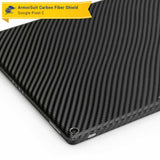 Google Pixel C Screen Protector + Black Carbon Fiber Skin
