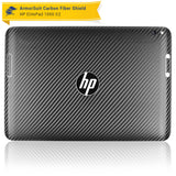 HP ElitePad 1000 G2 Screen Protector + Black Carbon Fiber Skin