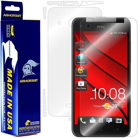 HTC Butterfly Screen Protector + Full Body Skin Protector