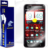 HTC Droid DNA Screen Protector + Full Body Skin Protector