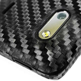 HTC EVO Design 4G Screen Protector + Black Carbon Fiber Skin Protector