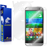 HTC One M8 Screen Protector + Full Body Skin Protector
