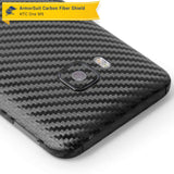 HTC One M9 Screen Protector + Black Carbon Fiber Film Protector
