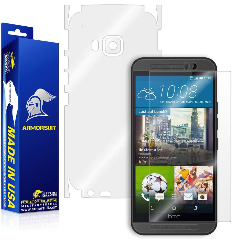 HTC One M9 Full Body Skin Protector