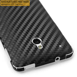 HTC One Mini Screen Protector + Black Carbon Fiber Film Protector
